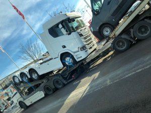 Ny lastbil på gång